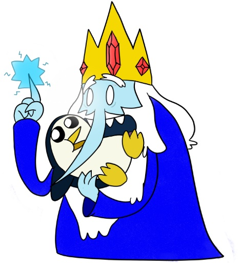 Adventure Time With Ice King And Gunter Images The Zap Wallpaper Background Photos