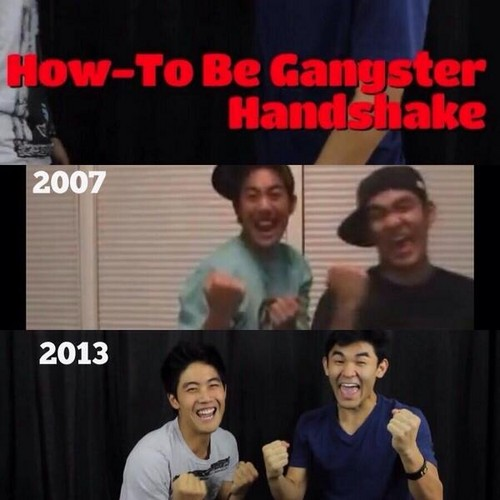 Nigahiga wallpaper probably with a sign titled They will never change