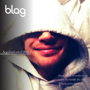 Tom Hardy in the new BLAG sophisticated rebel hoodie