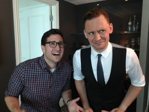 Tom Hiddleston and Josh Horowitz