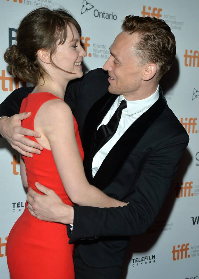 Tom Hiddleston And Emma Watson Tom at the toronto