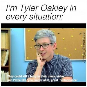 Tyler Oakley ((: