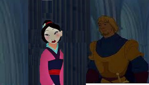 disney crossover wallpaper called Unsure Mulan