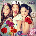 Violetta,Francesca and camilla - violetta fan art