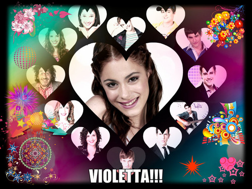 Violetta wallpaper probably with anime titled Violetta!