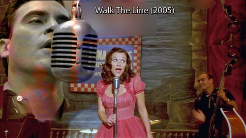 Filem kertas dinding called Walk the Line 2005