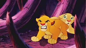 Walt Дисней Screencaps - Simba & Nala