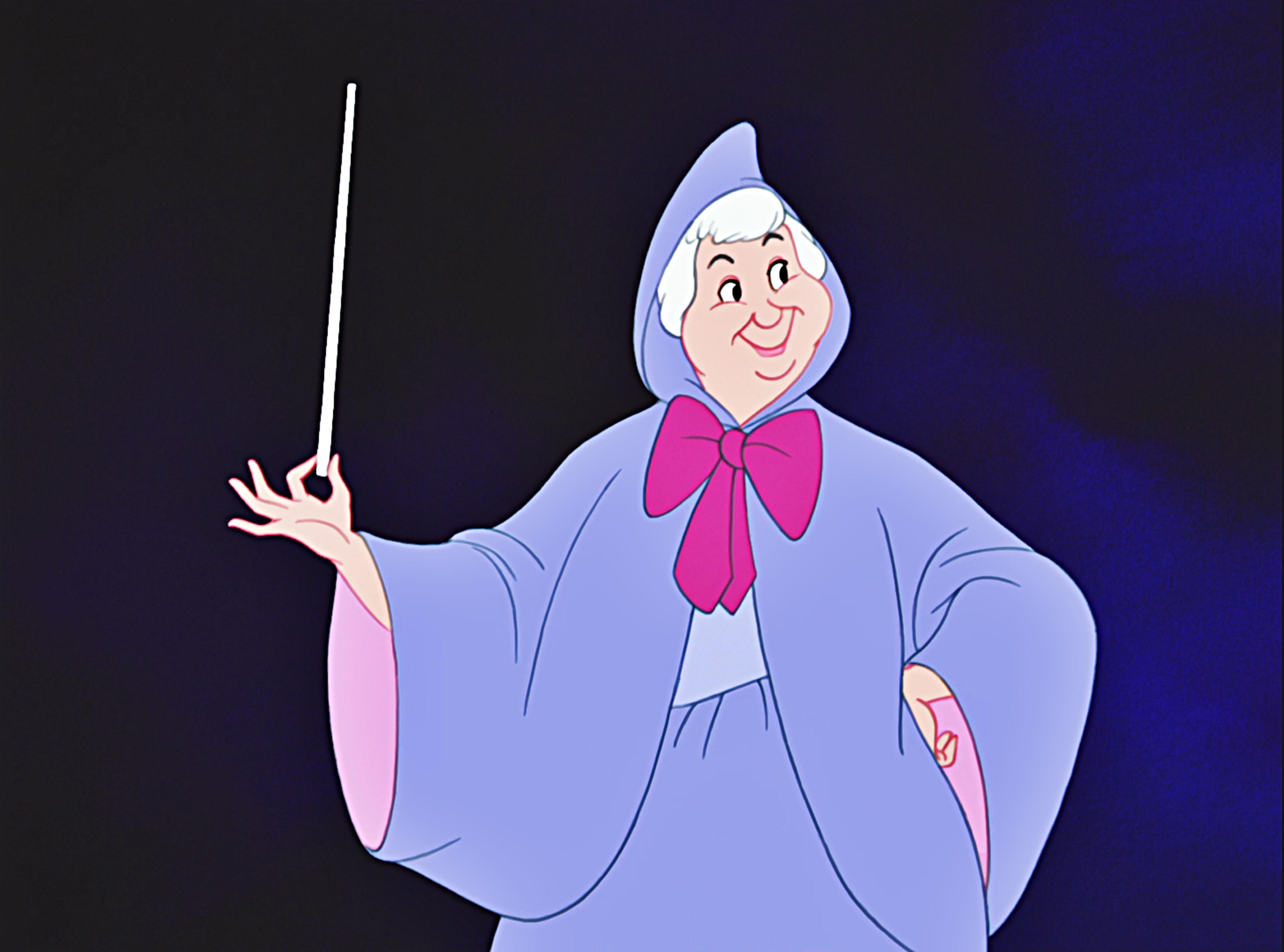 Золушка мультфильм картинки фея 5