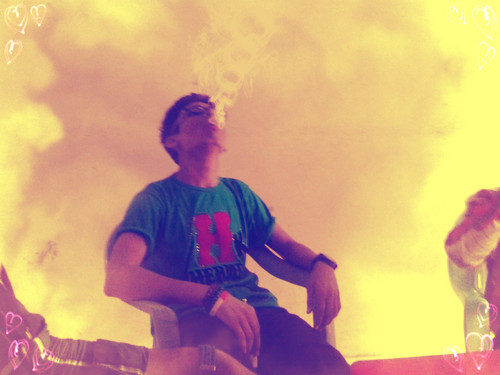 Emo Boys پیپر وال probably with a smoke screen titled Smoking Boys