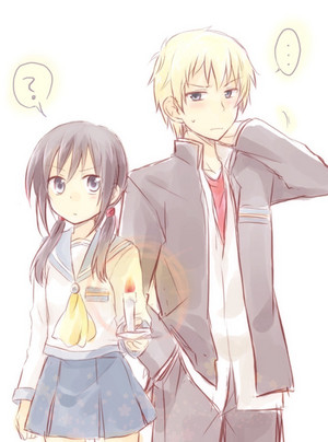 Yoshiki and Shinozaki