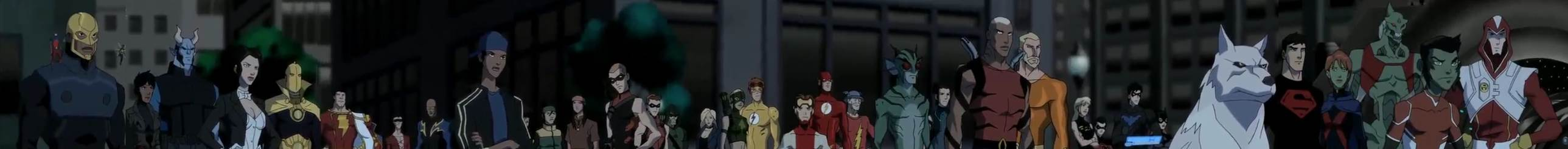Young Justice Invasion global, ensemble Heroes