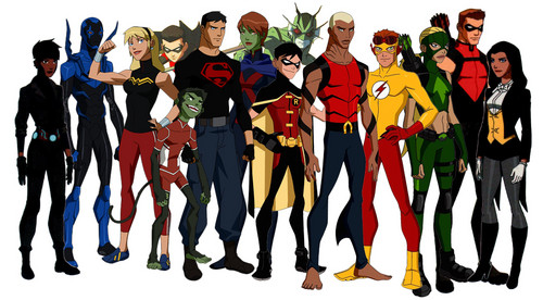 Young Justice Hintergrund called Young Justice