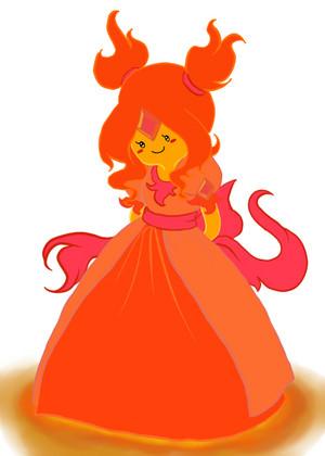 Younger Flame Princess