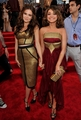 Zoey Deutch and Sarah Hyland at mtv VMAs