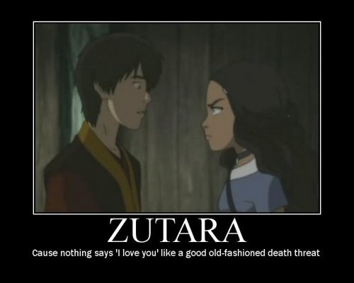 Avatar The Last Airbender kertas dinding possibly with a portrait and Anime entitled Zutara