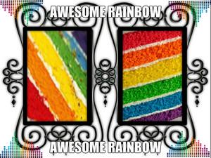 awesome arcobaleno