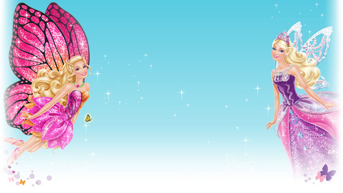 film barbie wallpaper entitled barbie mariposa & the fairy princess