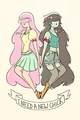 bubblegum and marceline - marceline photo