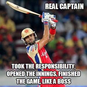 captain of rcb