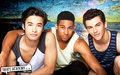 christian, ollie & ben - dance-academy wallpaper