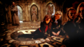 clary and jace wallpaper - mortal-instruments wallpaper
