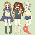 cross dress - inazuma-eleven photo