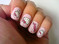 cute Hello Kitty nail art - hello-kitty photo
