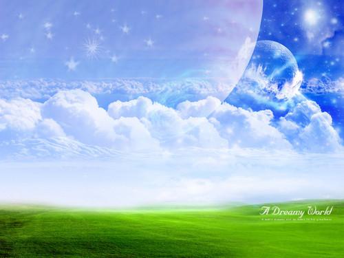 Nature Wallpaper Titled Dream World