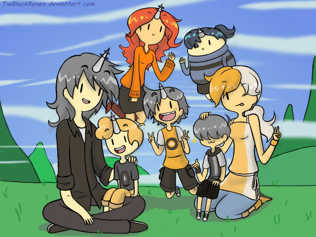 family picture _genderbent