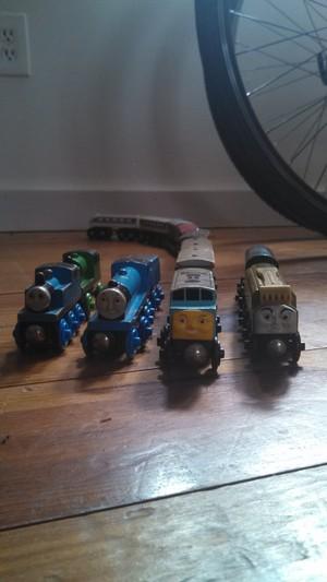 huge train