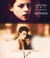i'm nothing but human. nothing <3 - edward-and-bella photo