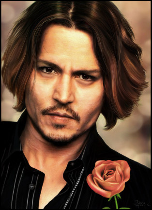 Johnny Depp wallpaper containing a portrait entitled jonny