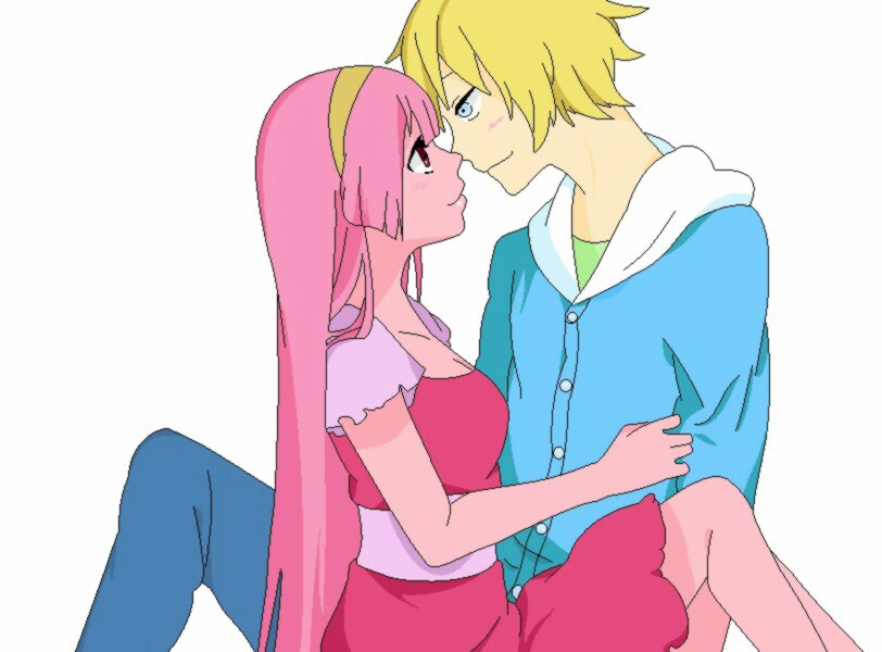 Finn And Princess Bubblegum Kiss Anime | www.imgkid.com ...