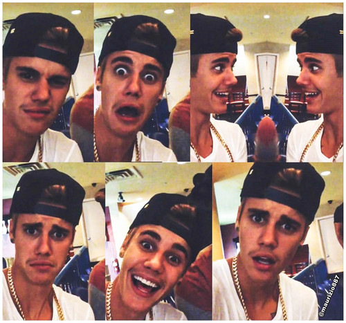 funny faces of justin bieber-#35