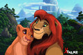 kopa and vitani - lion-king-couples photo