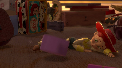 Jessie (Toy Story) Обои entitled lonley and forgotten