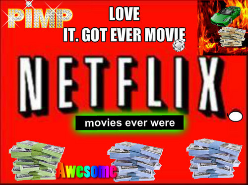 Netflix wallpaper with anime titled love it