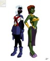 miss Tyr'ahnee and 퀸 Martian