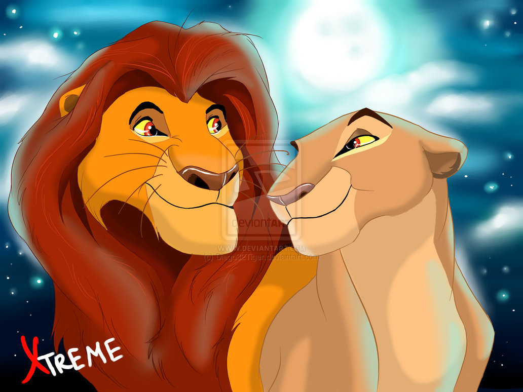 mufasa and sarabi in youth