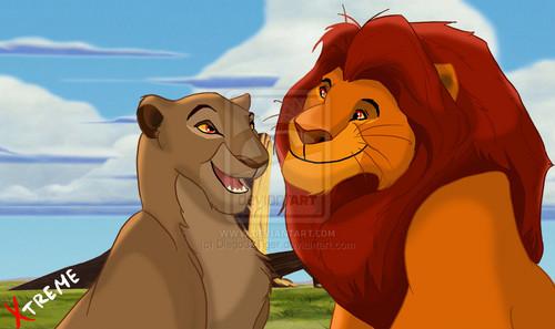 The Lion King 2:Simba's Pride wallpaper called mufasa and sarabi