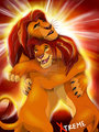 mufasa and simba forever - lion-king-fathers-and-mothers photo