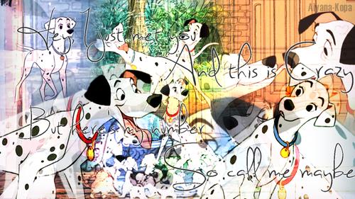 101 Dalmatians wallpaper called pongo