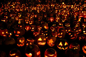 pumpkkin gathering