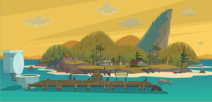 the island of total drama all étoile, star