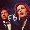 The X-Files fotografia with a portrait entitled the x files