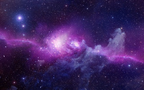 Photoshop wallpaper entitled univers
