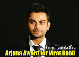 विराट कोहली वॉलपेपर possibly containing a business suit and a suit titled virat with arjuna award