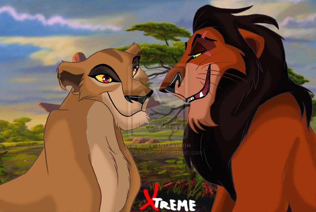 lion king couples images zira and scar hd wallpaper and background