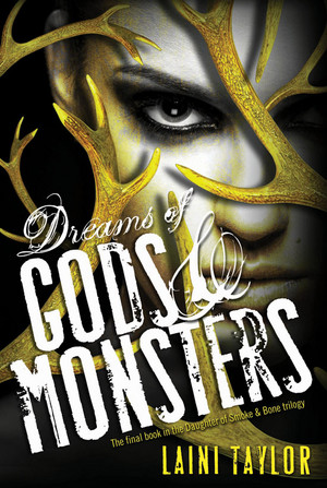 'Dreams of Gods & Monsters' official book cover
