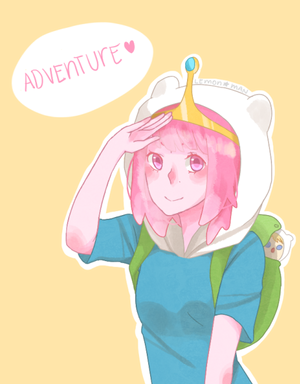 (FOR PBADVENTURE) Bonnibel The Adventurer